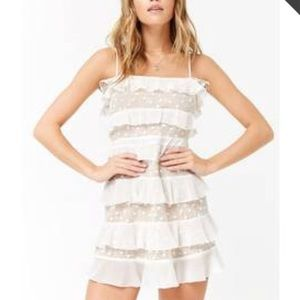 For love and lemons dupe floral ruffle dress